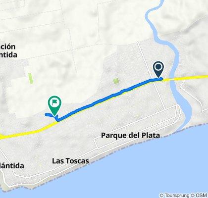 De IB 6362, Parque del Plata a C 3008, Las Toscas