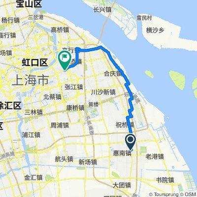 Tour de Pudong XL Part 3 (Drinkstand to Jinqiao)