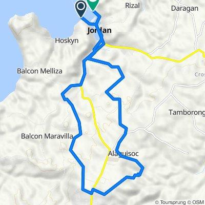 Route from 541, Jordan nov 10/20