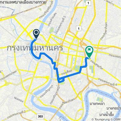 Kao San Road to home