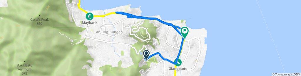 Pepper Estate Road 14 6681, Tanjung Bungah to SRK Tanjung Tokong, Jalan Tanjong Tokong, Tanjung Bungah