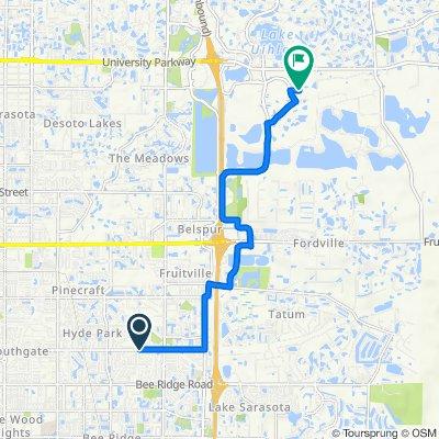 4914 Webber St, Sarasota to 7337 International Pl, Lakewood Ranch