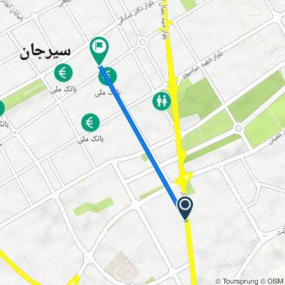بلوار نماز, Sirjan to خیابان نصیری جنوبی, Sirjan