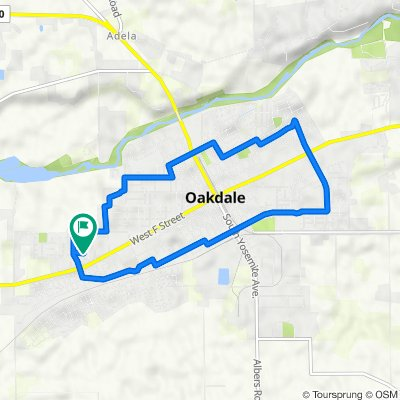 1937 Sugar Pine Dr, Oakdale to 1937 Sugar Pine Dr, Oakdale