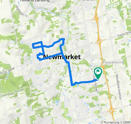 Newmarket Bike Tour
