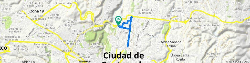 De 2a Avenida, Ciudad de Guatemala a 2a Avenida, Ciudad de Guatemala