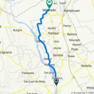 McArthur Highway, Tarlac City to Mcarthur Highway, Moncada