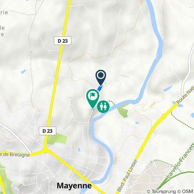 De Rue Saint-Léonard 1038, Mayenne à Rue Saint-Léonard 682, Mayenne