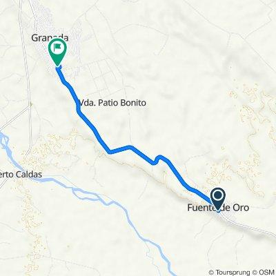 De Carrera 14 12-27, Fuente De Oro a Carrera 13 Via Nacional 65, Granada