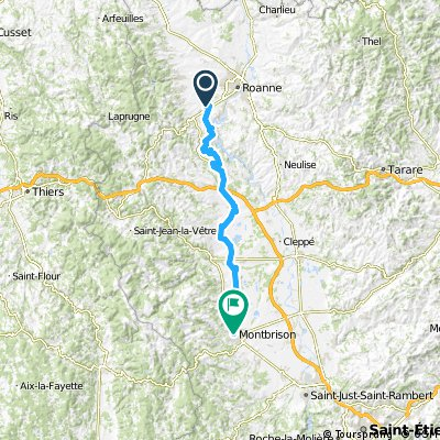 Toul Le-Puy Etappe 8 Renaison Montbrison