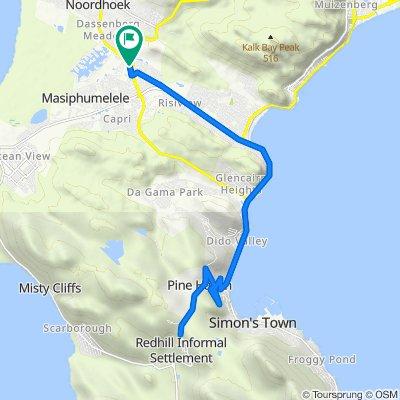 Noordhoek to Redhill 31k