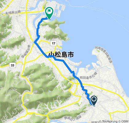4-1, Hanourachonakanosho Nakare, Anan to 66-96, Rondencho Shimbari, Tokushima