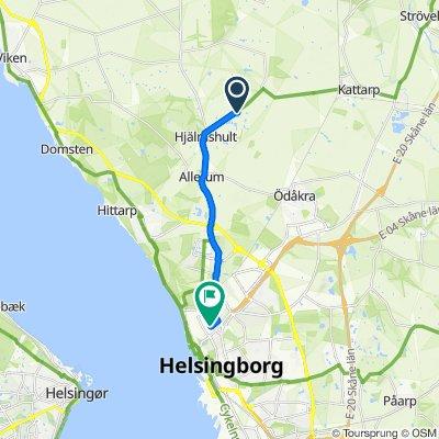 Tursköpsvägen 154 to Bagaregatan 6