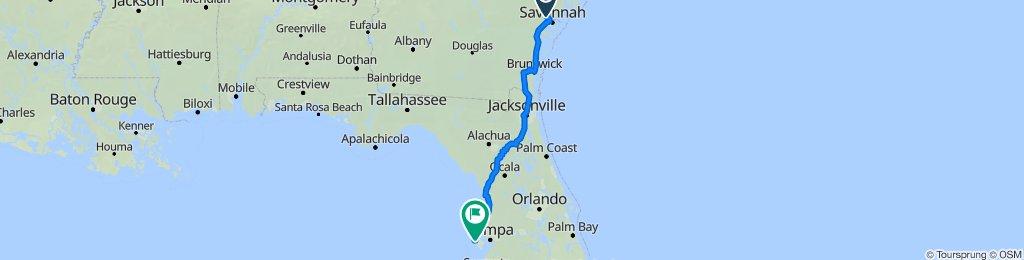 442 Airways Ave, Savannah to 10689 Harborside Dr, Largo