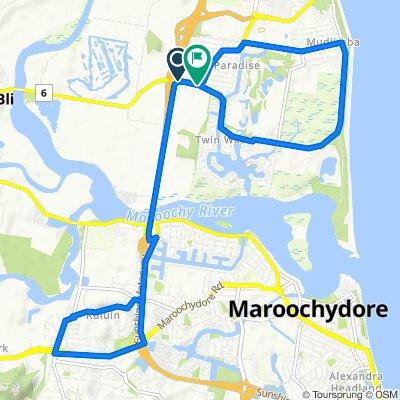 Daily ride loop, Kuluin and Ocean Drive