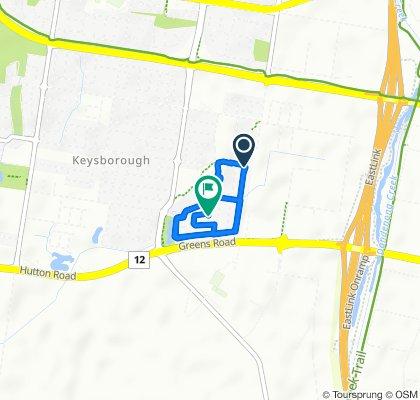 182 Westwood Boulevard, Keysborough to 15 Fairthorne Street, Keysborough