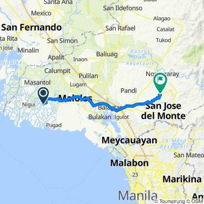 291, Hagonoy to Norzagaray San Jose Road