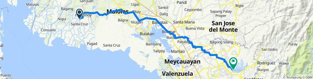 291, Hagonoy to La Mesa Water Treatment Facility Road, Quezon City