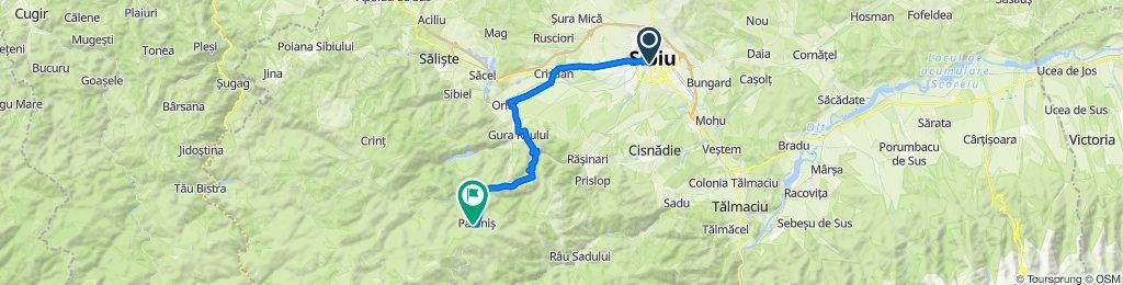 Sibiu - Gura-Raului - Paltinis