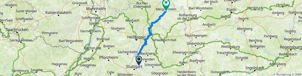 Fellbach - Bad Mergentheim