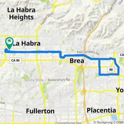 brea bike trail