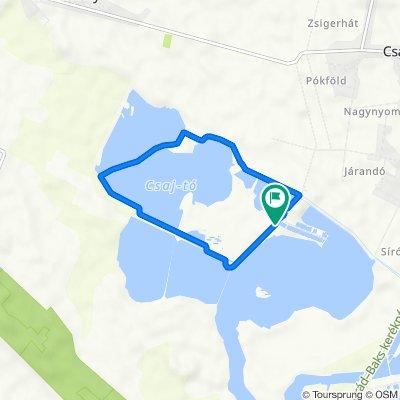"""Csaj-tó """"nagy kör"""""""