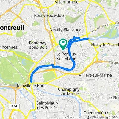 De 11 Rue de la Gaîté, Le Perreux-sur-Marne à 11 Rue de la Gaîté, Le Perreux-sur-Marne