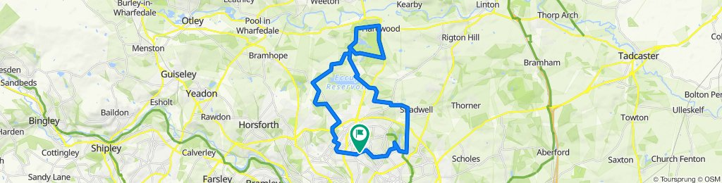 395 Gledhow Lane, Leeds to The Spinney, 352 Gledhow Lane, Leeds