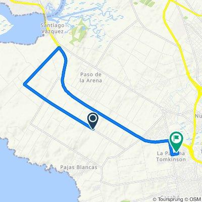 De Camino O'Higgins 8130, Montevideo a Congreso de Avalos 5212, Montevideo