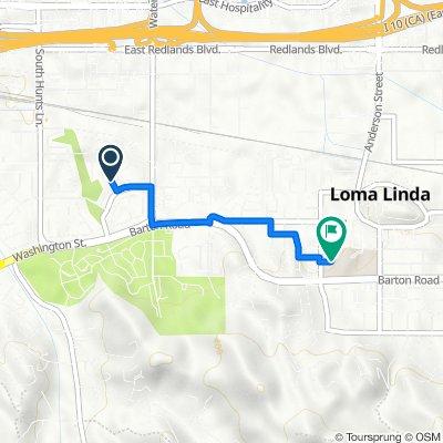 2400–2574 S Heritage Ln, San Bernardino to 11234 Anderson St, Loma Linda
