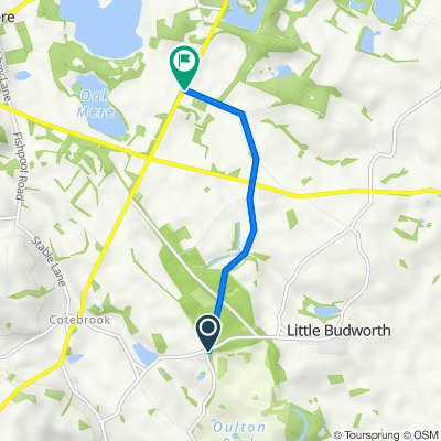 Budworth Park Walk