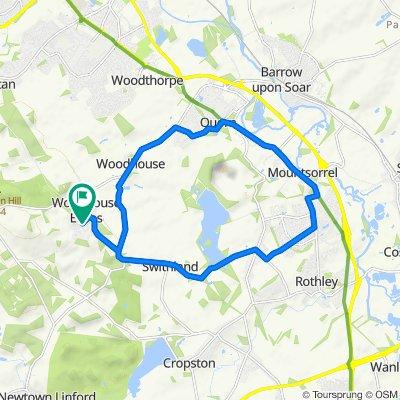 61 Maplewell Road, Loughborough to 59 Maplewell Road, Loughborough