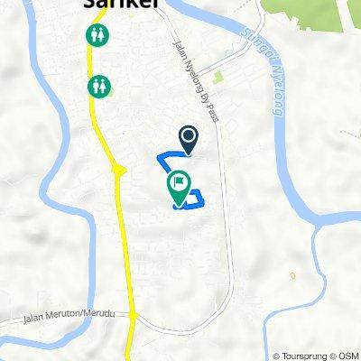 Jalan Laluan Repok, Sarikei to Lorong Bawal 1, Sarikei