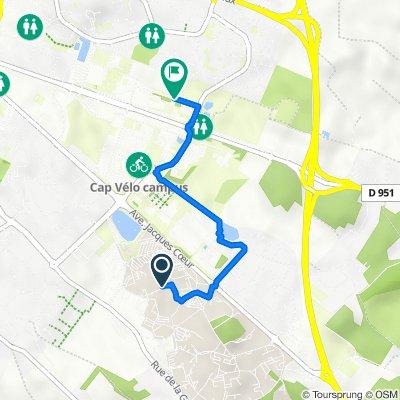 Itinéraire vers 5 Rue Théodore Lefèbvre, Poitiers