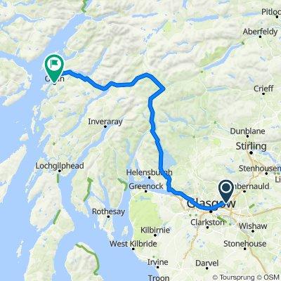 Glasgow to Oban