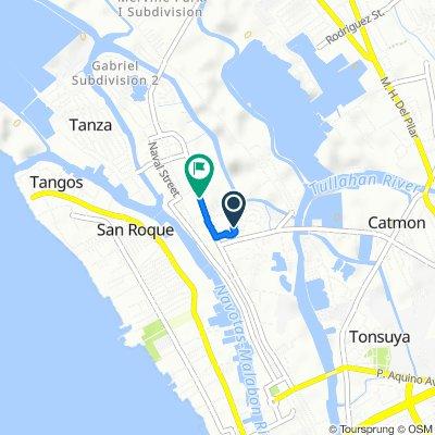 104 Santa Ana Street, Malabon City to 455 General A. Luna Street, Malabon City
