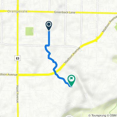 5933 Filbert Ave, Orangevale to 9207 Shady Tree Ct, Fair Oaks