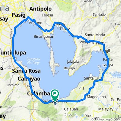 Laguna Lake Loop
