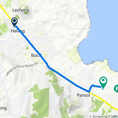 Route to Unnamed Road, Calamba