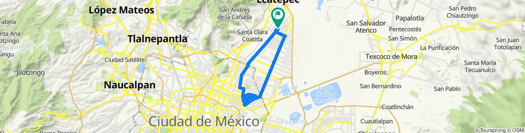 De Anillo de Circunvalación N 182, Ecatepec a Anillo de Circunvalación N 182, Ecatepec