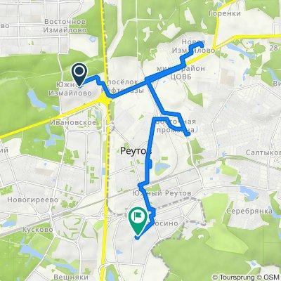 Морозные зимние велоездки Реутов - Балашиха - Новокосино 18 02 2021