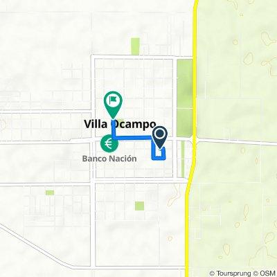 De 25 de Mayo 1148, Villa Ocampo a Rivadavia 1610, Villa Ocampo