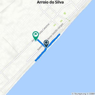De Rua Bento Gonçalves, 2–68, Balneário Arroio do Silva a Rua T Pereira, 1170–1316, Balneário Arroio do Silva