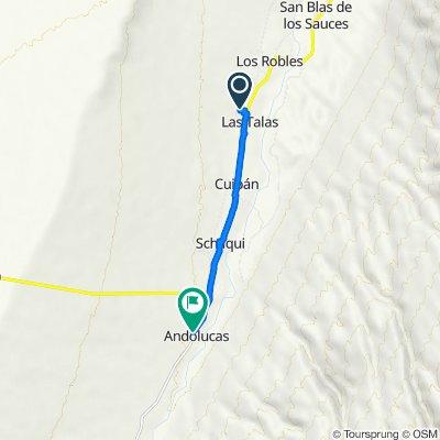De Ruta Nacional 40 a Unnamed Road