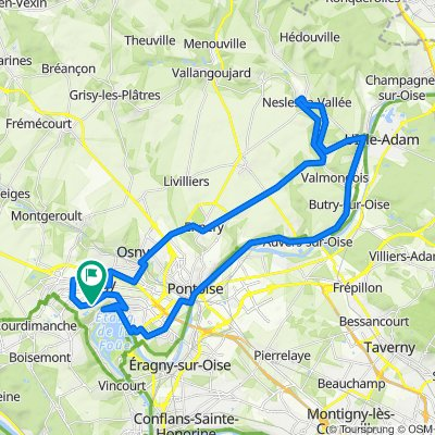 Route n°2 - 50km (2021)