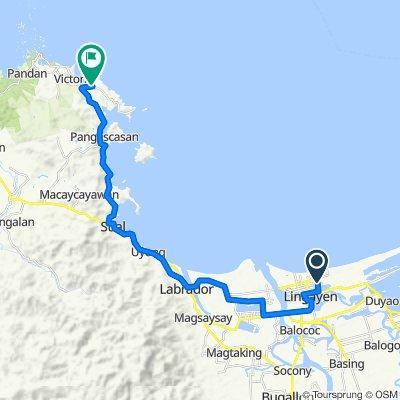 Castillo Street 715, Lingayen to Baybay Norte Barangay Road, Sual