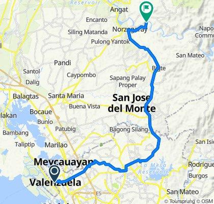 Kapitan Vililia 109, Valenzuela to Unnamed Road, Norzagaray