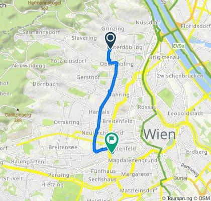 Helmut-Qualtinger-Hof 35–36, Wien nach Kaiserstraße 33/4, Wien