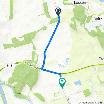 Auenweg, Merseburg nach An der alten Ziegelei 2, Merseburg