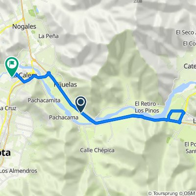 De Panamericana Norte 200, Hijuelas a Manuel Córdova 17, La Calera